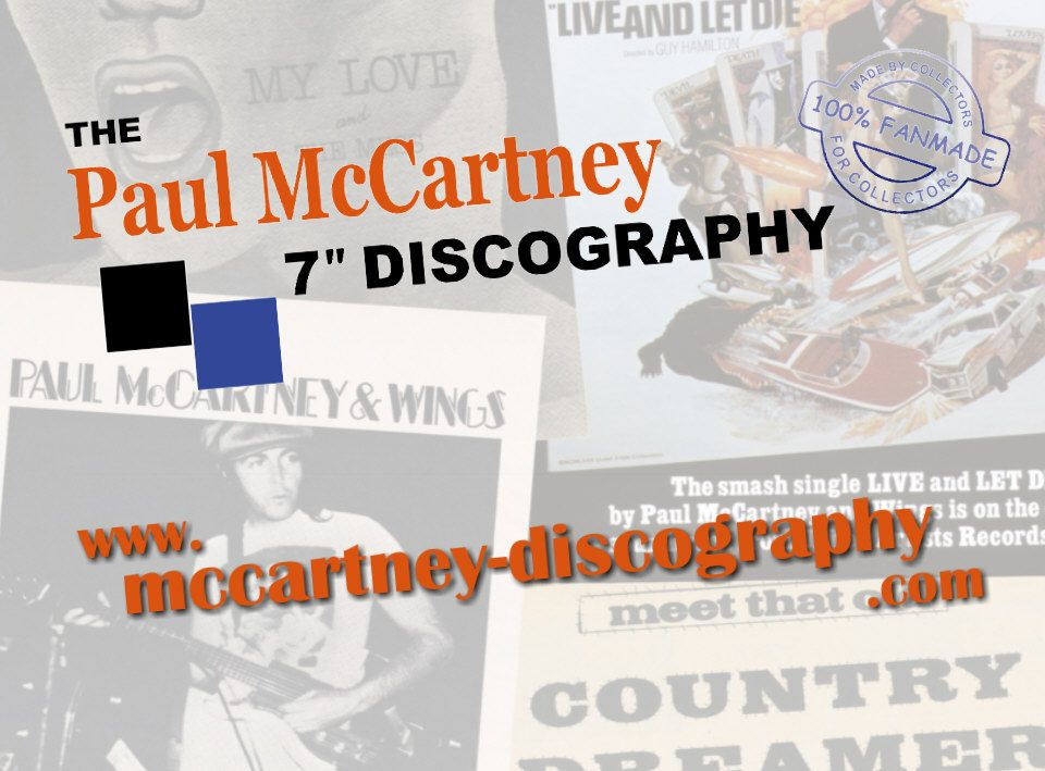 The Paul McCartney Discography Project